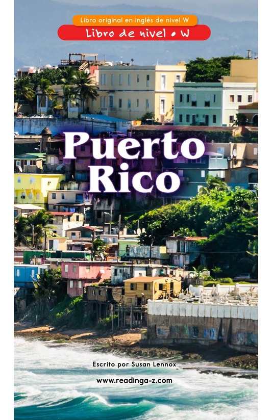Book Preview For Puerto Rico Page 0