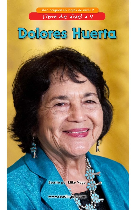Book Preview For Dolores Huerta Page 0