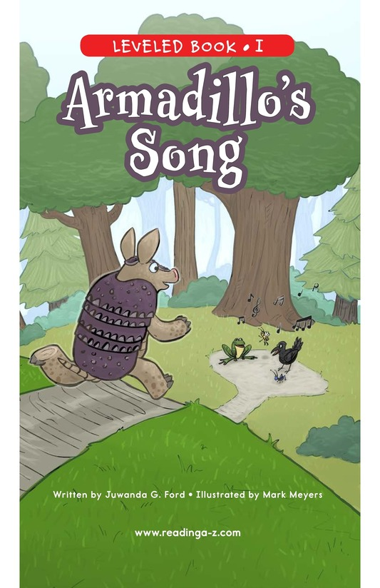 Book Preview For Armadillo's Song Page 0