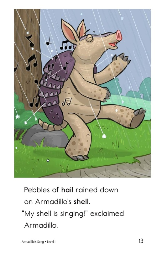 Book Preview For Armadillo's Song Page 13