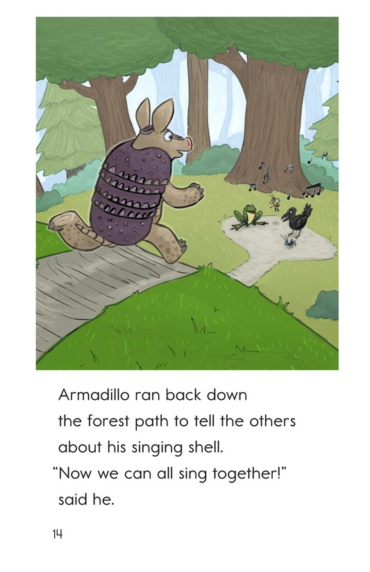Book Preview For Armadillo's Song Page 14