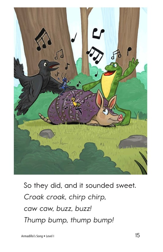 Book Preview For Armadillo's Song Page 15