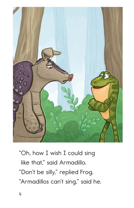 Book Preview For Armadillo's Song Page 4