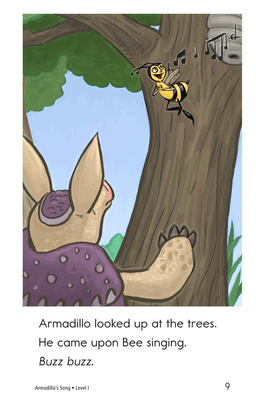 Book Preview For Armadillo's Song Page 9