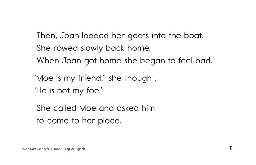 Book Preview For Joan's Goats and Moe's Crows Page 11