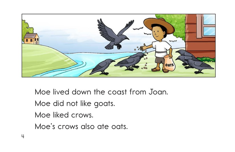 Book Preview For Joan's Goats and Moe's Crows Page 4