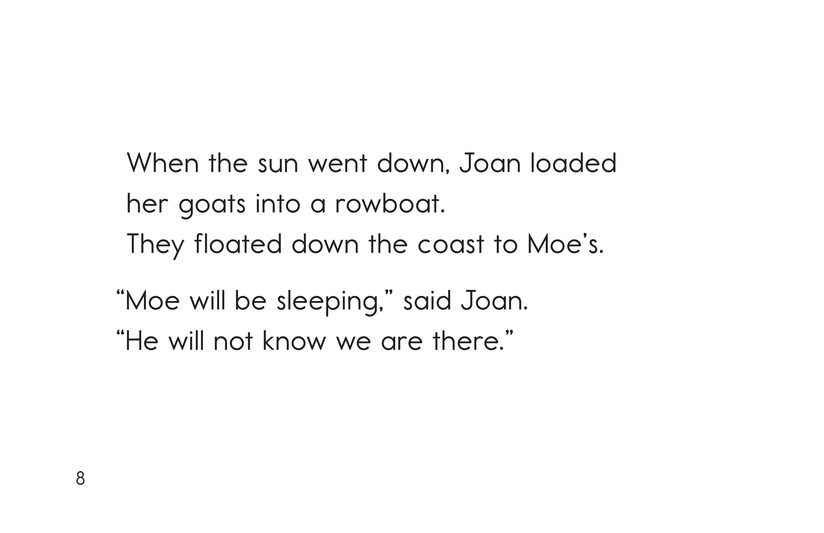 Book Preview For Joan's Goats and Moe's Crows Page 8
