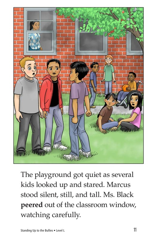 Book Preview For Standing Up to the Bullies Page 11