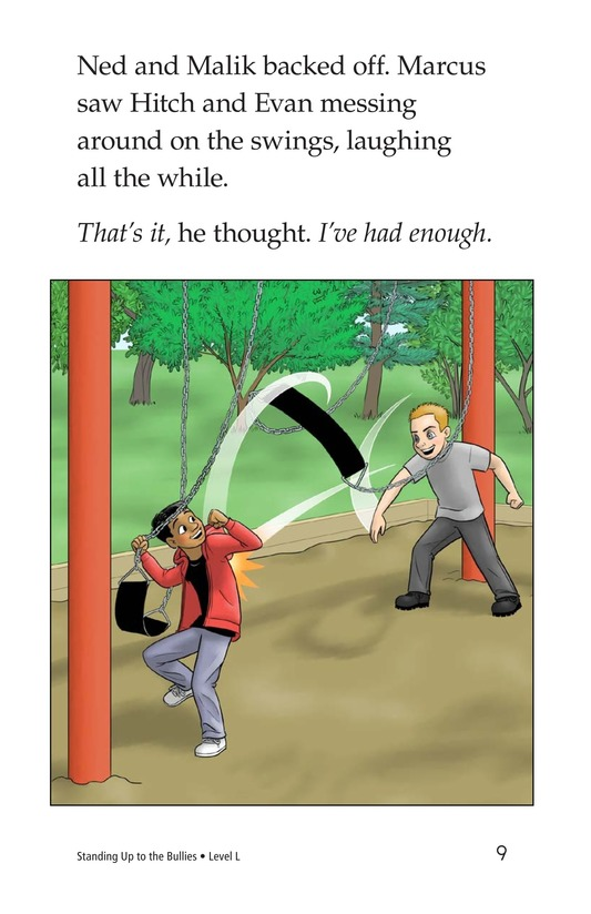 Book Preview For Standing Up to the Bullies Page 9