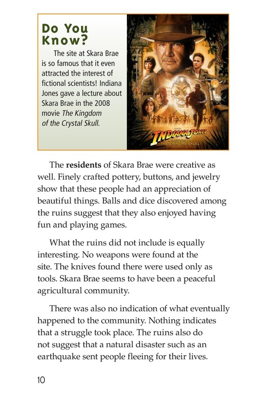 Book Preview For The Secrets of Skara Brae Page 10