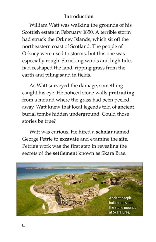 Book Preview For The Secrets of Skara Brae Page 4