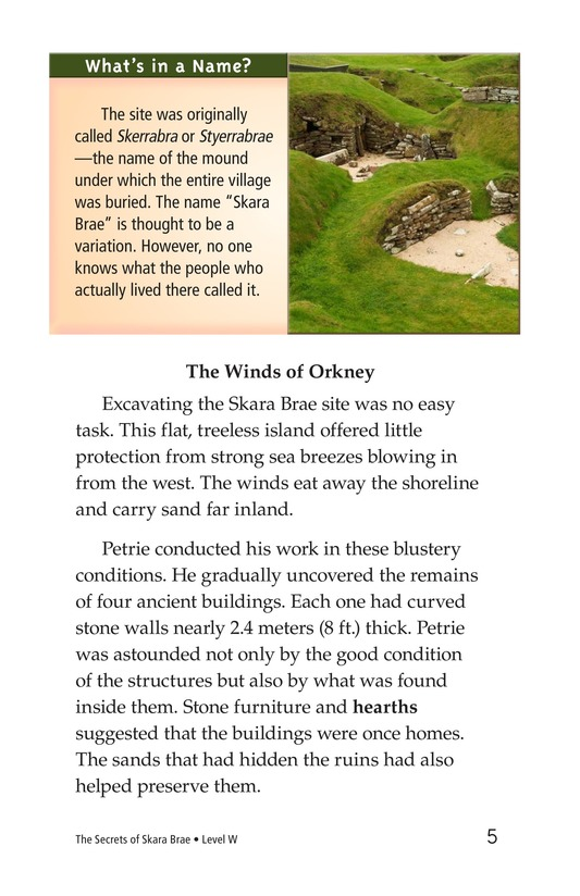 Book Preview For The Secrets of Skara Brae Page 5