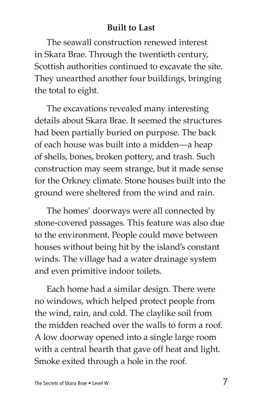 Book Preview For The Secrets of Skara Brae Page 7