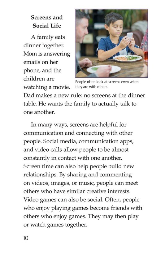Book Preview For Too Much Screen Time? Page 10