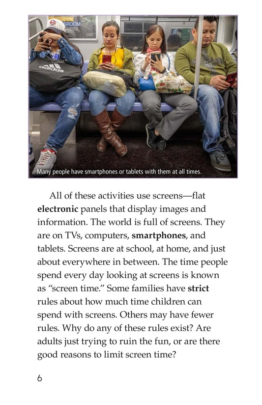 Book Preview For Too Much Screen Time? Page 6
