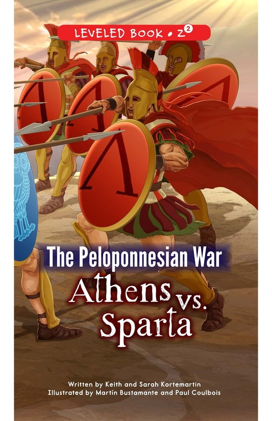 Book Preview For The Peloponnesian War: Athens Versus Sparta Page 0