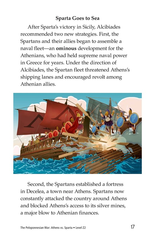 Book Preview For The Peloponnesian War: Athens Versus Sparta Page 17