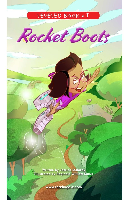 Book Preview For Rocket Boots Page 0