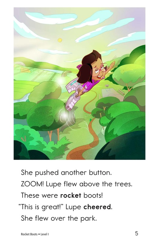Book Preview For Rocket Boots Page 5