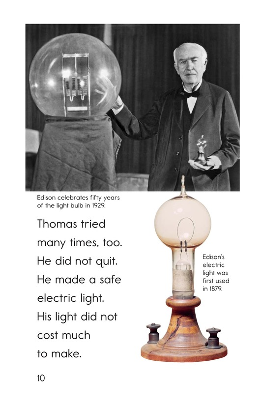 Book Preview For Edison's Inventions Page 10