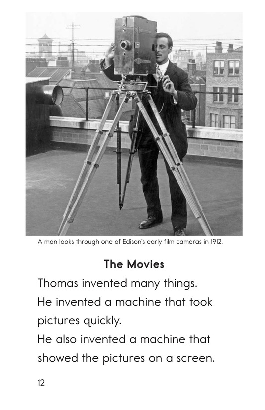 Book Preview For Edison's Inventions Page 12