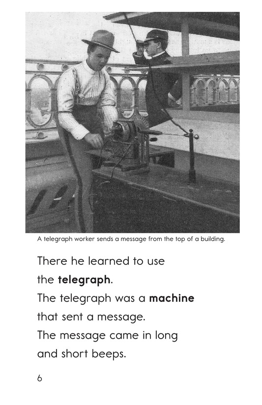 Book Preview For Edison's Inventions Page 6