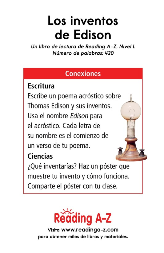 Book Preview For Edison's Inventions Page 17