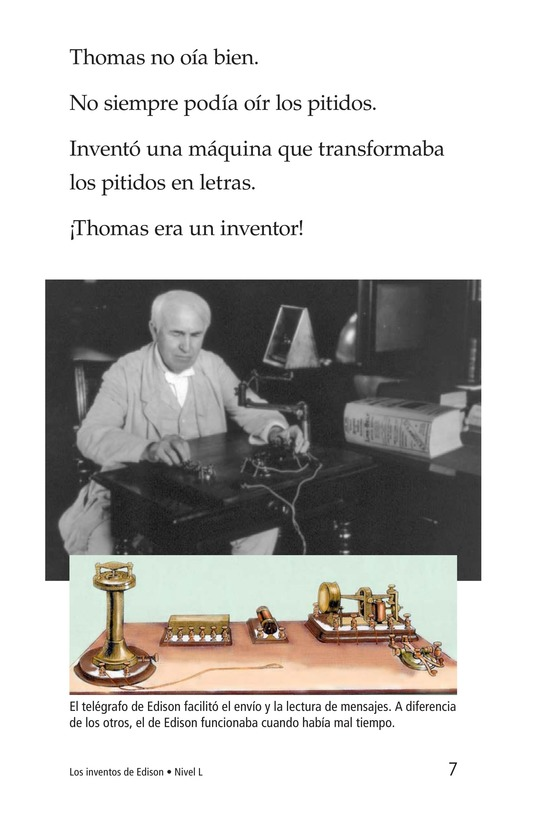 Book Preview For Edison's Inventions Page 7
