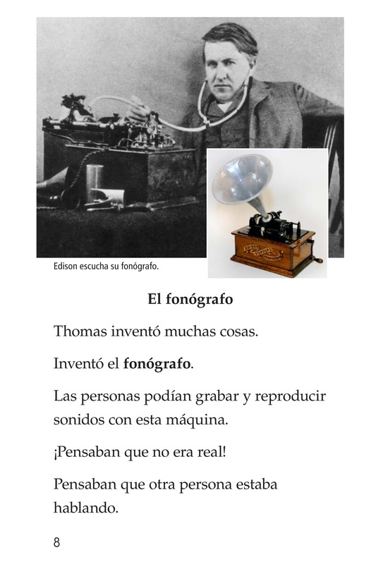 Book Preview For Edison's Inventions Page 8