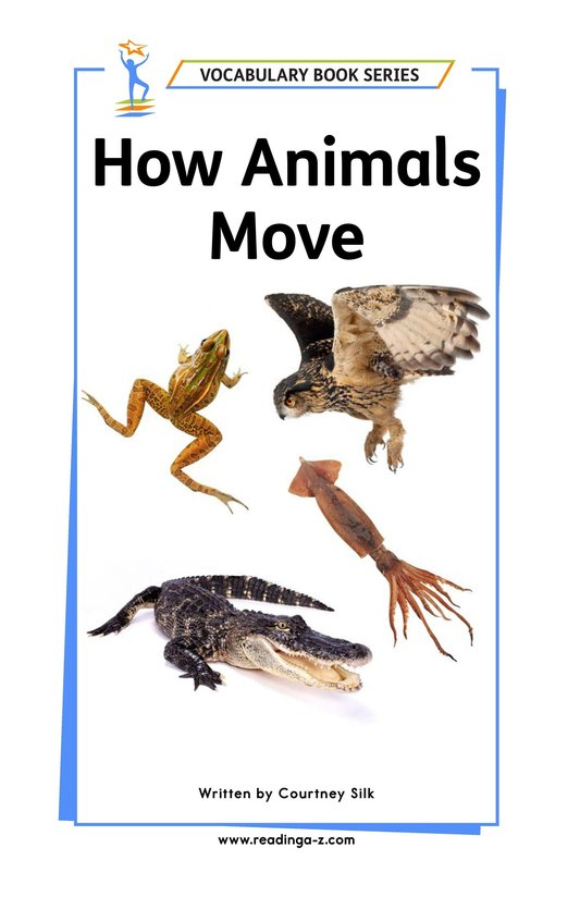 Book Preview For How Animals Move Page 1