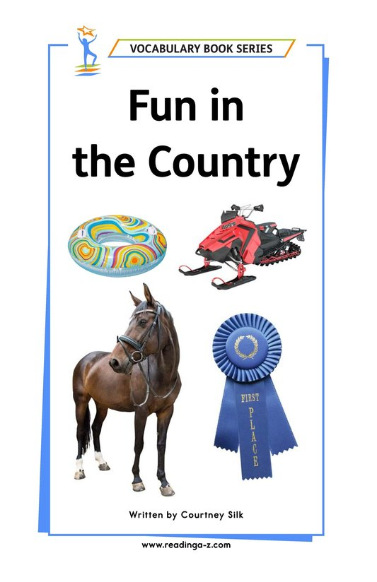 Book Preview For Fun in the Country Page 1