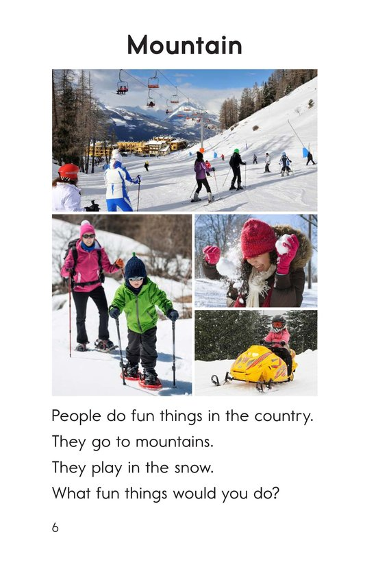 Book Preview For Fun in the Country Page 6