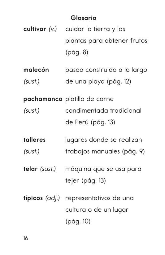 Book Preview For Vivimos en Perú Page 16