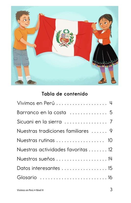 Book Preview For Vivimos en Perú Page 3