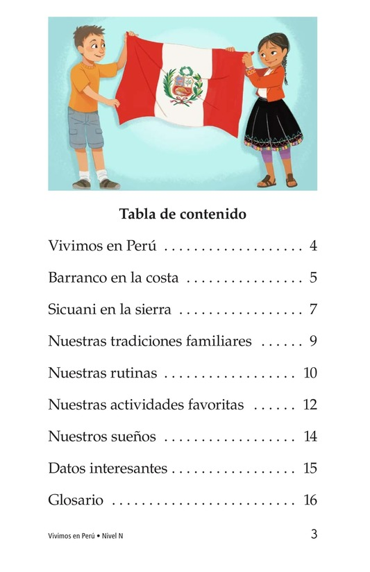 Book Preview For Vivimos en Perú Page 3