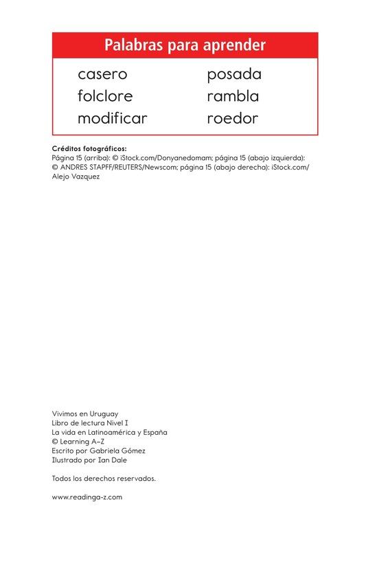 Book Preview For Vivimos en Uruguay Page 2