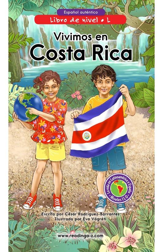 Book Preview For Vivimos en Costa Rica Page 0