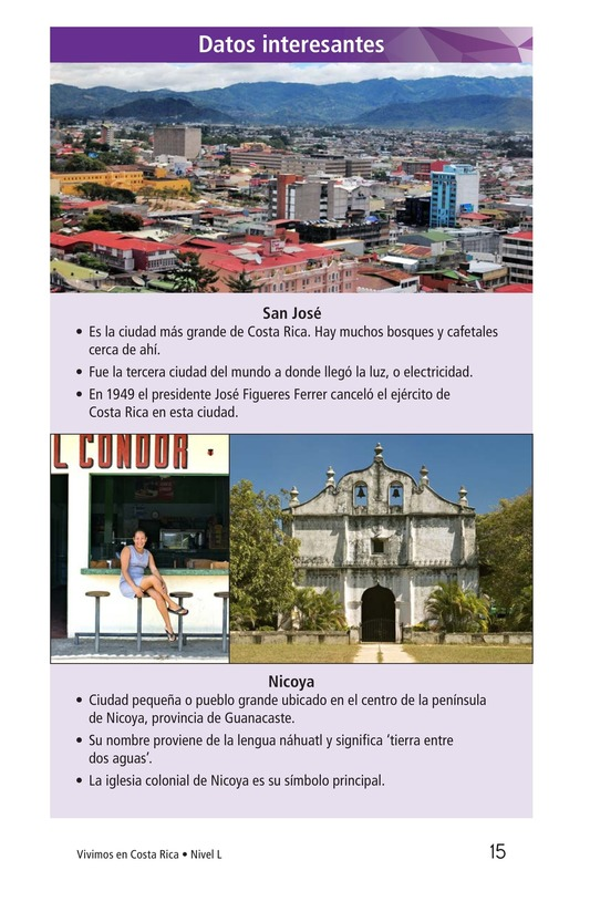 Book Preview For Vivimos en Costa Rica Page 15