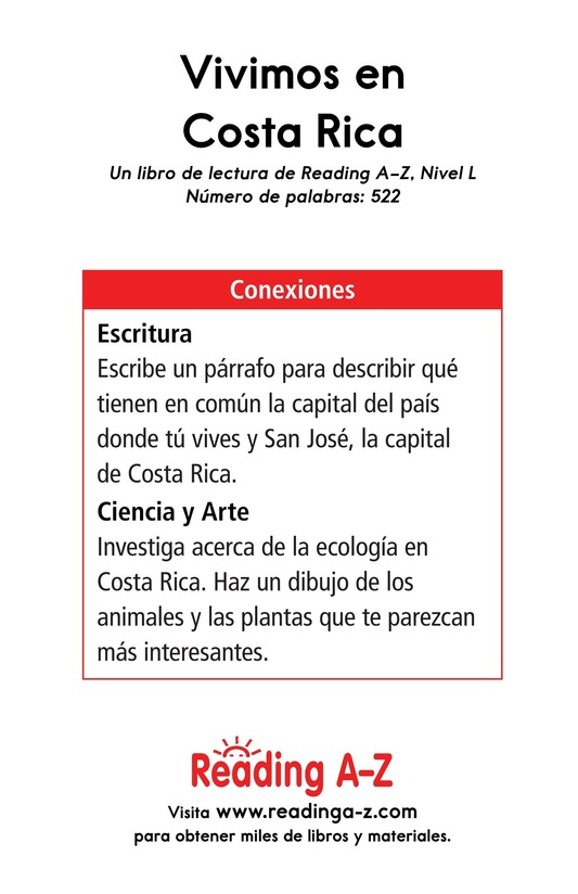 Book Preview For Vivimos en Costa Rica Page 17