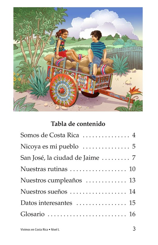 Book Preview For Vivimos en Costa Rica Page 3