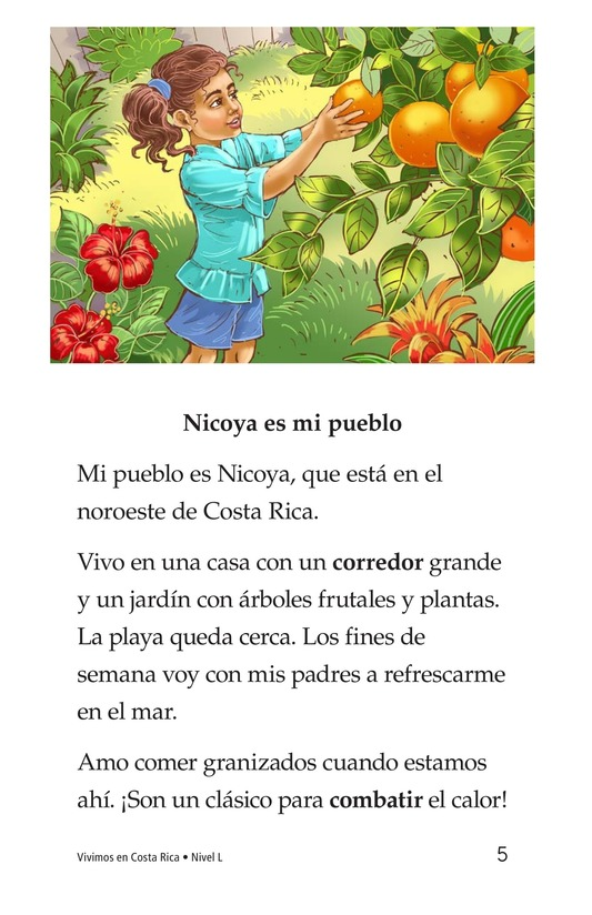 Book Preview For Vivimos en Costa Rica Page 5