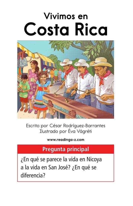 Book Preview For Vivimos en Costa Rica Page 1