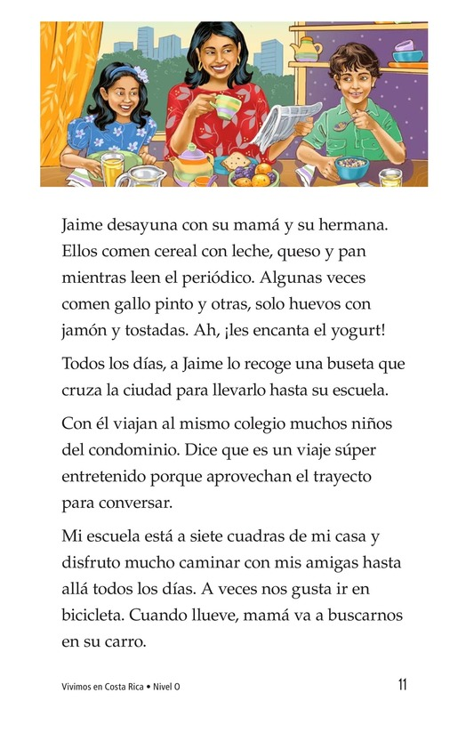 Book Preview For Vivimos en Costa Rica Page 11