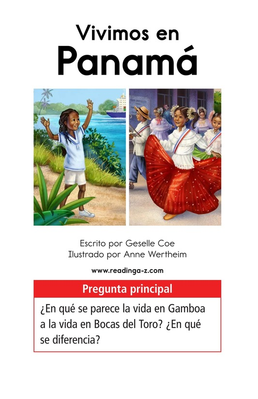 Book Preview For Vivimos en Panamá Page 1