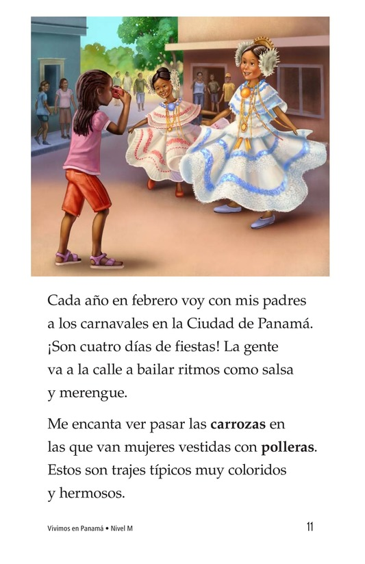 Book Preview For Vivimos en Panamá Page 11