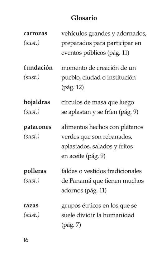 Book Preview For Vivimos en Panamá Page 16