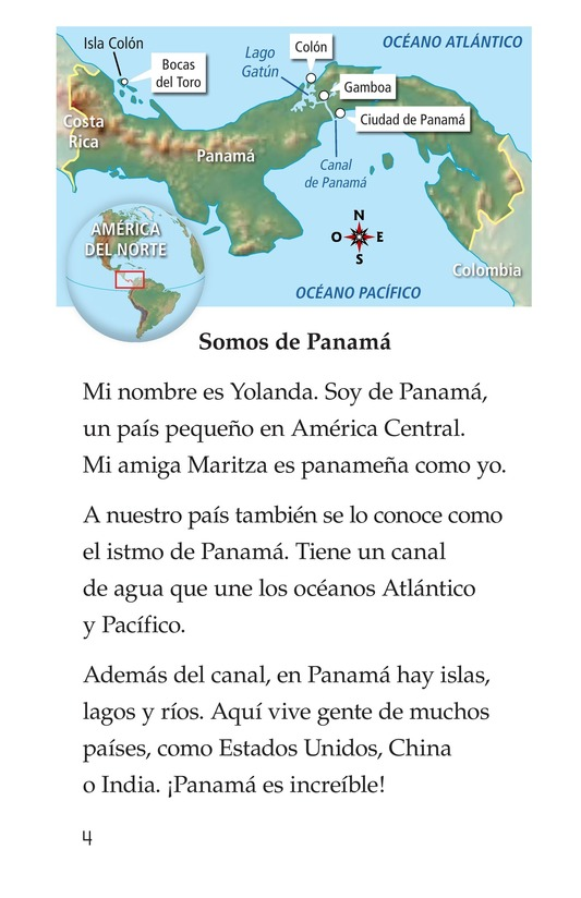 Book Preview For Vivimos en Panamá Page 4