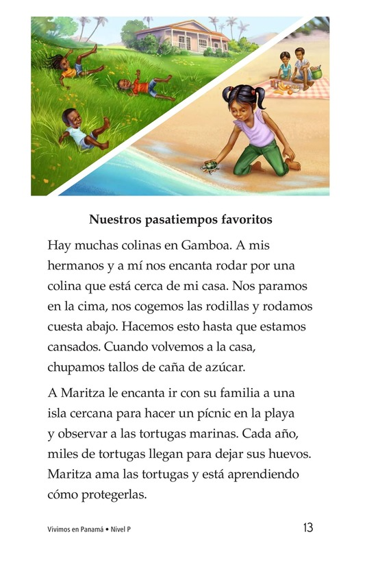 Book Preview For Vivimos en Panamá Page 13