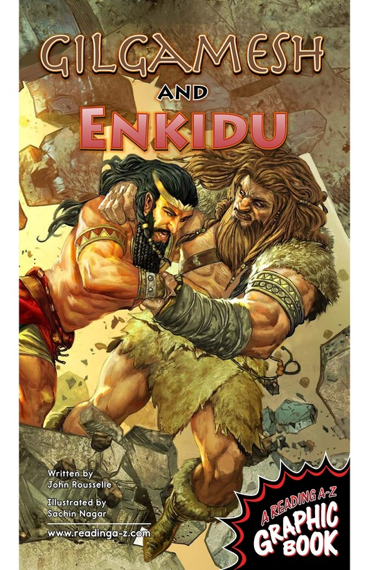 Book Preview For Gilgamesh and Enkidu Page 1