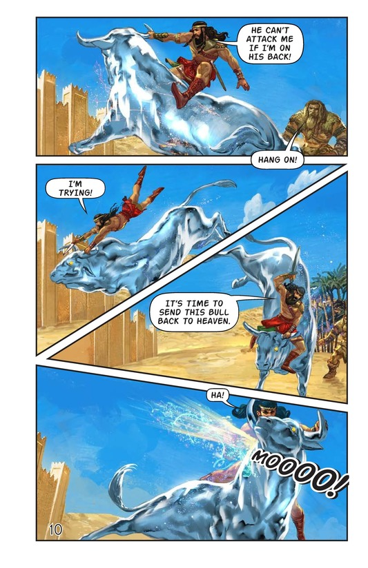 Book Preview For Gilgamesh and Enkidu Page 11